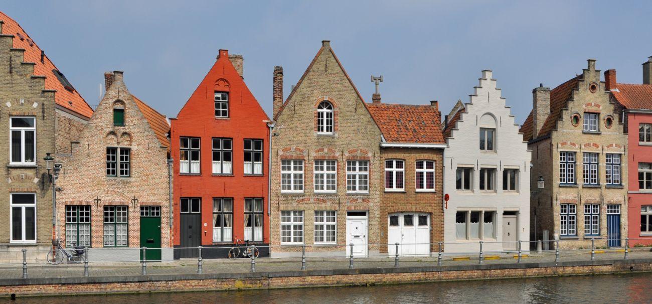 Historische stad in de omgeving van Diksmuide: Brugge. Ze behoort tot één van de vele mogelijkheden voor een interessante uitstap.