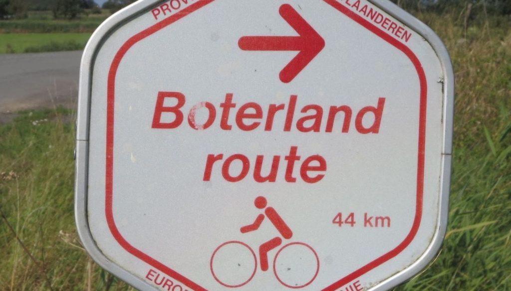 Knooppunt Fietsroute: Boterlandroute. Activiteiten in overvloed!